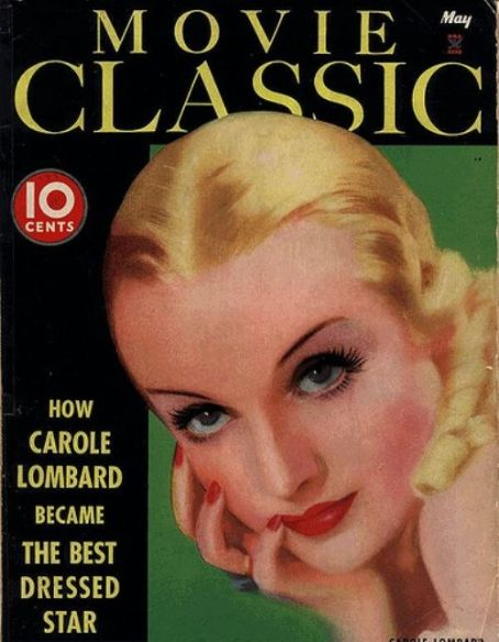 Carole Lombard - Movie Classic Magazine [United States] (May 1935)