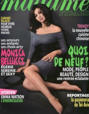 Monica Bellucci - Madame Figaro Magazine Cover [France] (20 August 2011)