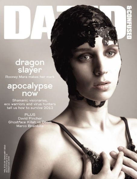 Rooney Mara - Dazed & Confused Magazine Cover [United States] (January 2012)