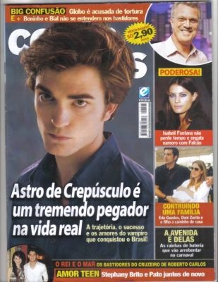 Robert Pattinson - conta mais Magazine [Brazil] (January 2009)