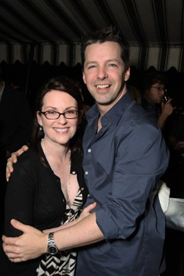 Sean Hayes Perry Ellis and Vanity Fair Toast 30 Rock