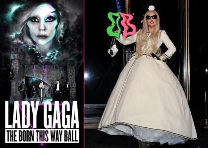 Lady Gaga Announces 'The Born This Way Ball' Tour Dates