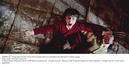 Troye Sivan Young James Howlet's () mutant powers are unleashed in the aftermath of a family tragedy. Photo credit: Twentieth Century Fox. TM and ©2009 Twentieth Century Fox Film Corporation. All rights reserved.