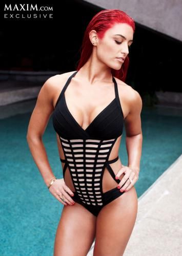Eva Marie  Maxim shoot