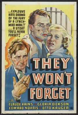 They Won't Forget (1937) Poster
