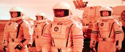Jill Teed The Mars One mission team includes Renee Cote (), Nicholas Willis (Kavan Smith), Commander Luke Graham (Don Cheadle) and Sergei Kirov (Peter Outerbridge) in Touchstone's Mission To Mars - 2000
