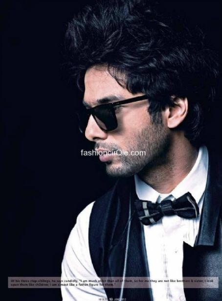 Shahid Kapoor - Hi! BLITZ Magazine Pictorial [India] (June 2012)