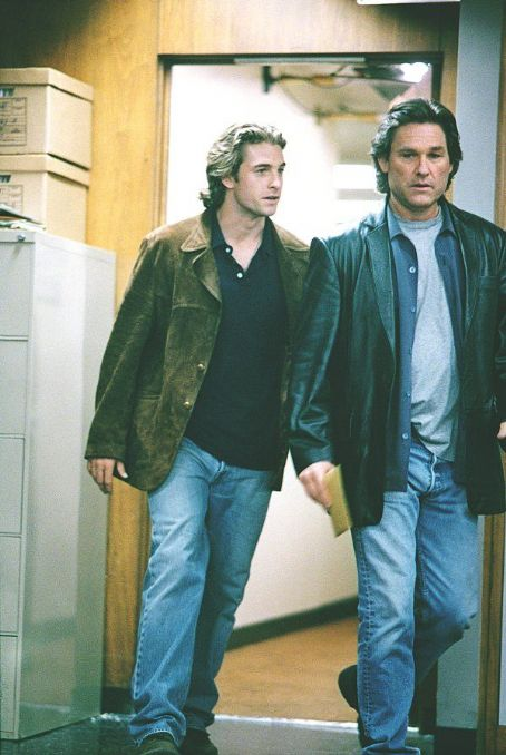 Dark Blue Scott Speedman as rookie Bobby Keough and Kurt Russell as Detective Eldon Perry in United Artists'  - 2003