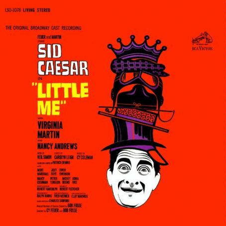 Sid Caesar Little Me - 1962 Broadway Musical Cy Coleman