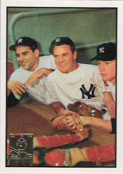 Yogi Berra , Hank Bauer & Mickey Mantle