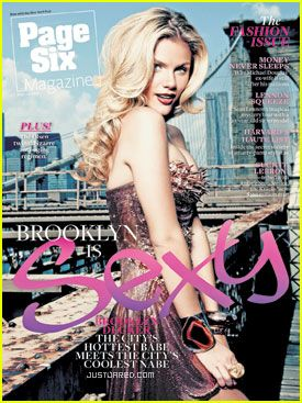 Brooklyn Decker - Page Six Magazine Cover [United States] (14 September 2010)
