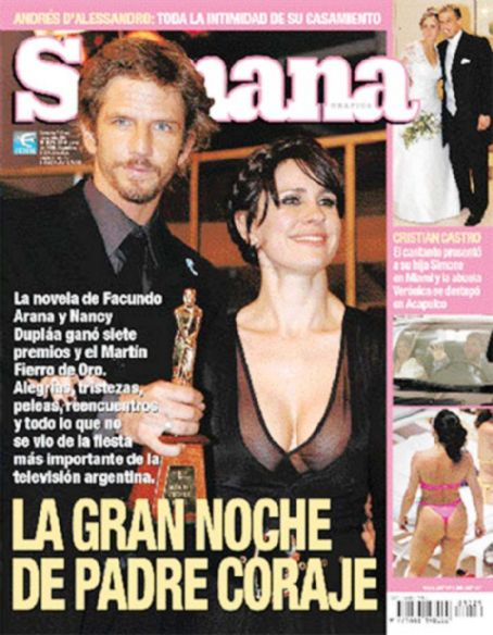 Nancy Dupláa, Facundo Arana - Semana Magazine Cover [Argentina] (23 June 2005)