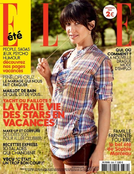 Sophie Marceau - Elle Magazine [France] (23 July 2010)