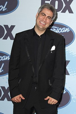 Taylor Hicks - American Idol Season 5 Finale - Press Room