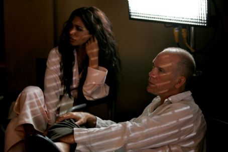 Natalie Becker  as Soraya and John Malkovich as Professor David Lurie in Steve Jacobs drama 'Disgrace'