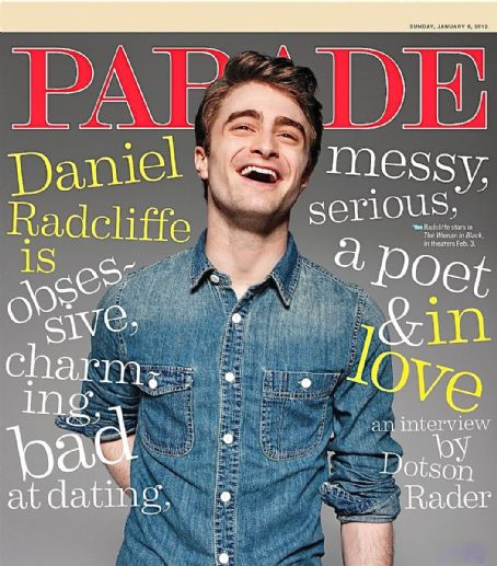 Daniel Radcliffe - Parade Magazine Cover [United States] (8 January 2012)
