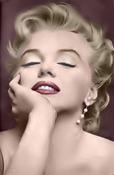 Marilyn Monroe - marilyn monroe colorization...