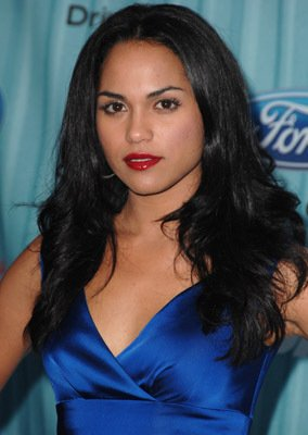 Monica Raymund American Idol Top 12 Party