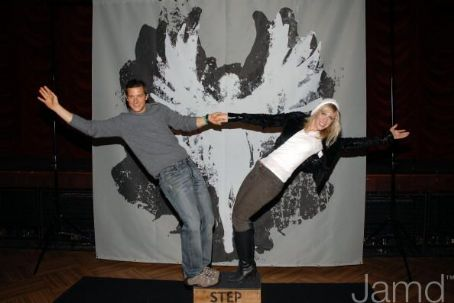 Bear Grylls  at the Hard Rock Cafe Celebrate STEP Up Campaign