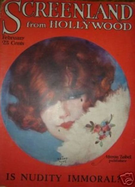 Clara Bow - Screenland Magazine [United States] (February 1923)