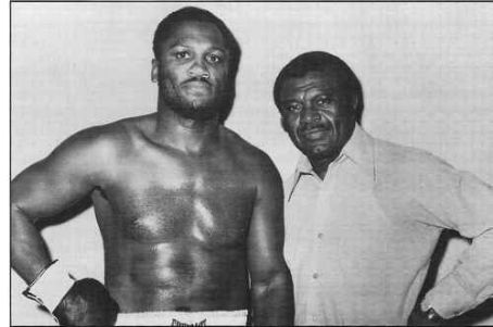 Joe Frazier  With Trainer Eddie Futch