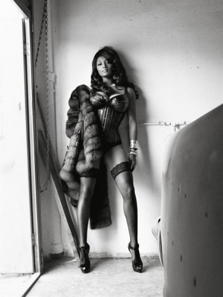 Toccara Jones - Vogue Italia: The Black Issue 2008