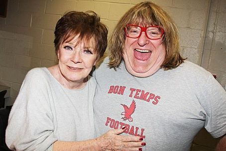 Bruce Vilanch Polly Bergen With