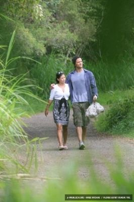 Jared Padalecki and Sandra McCoy