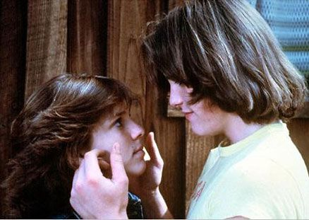 Little Darlings Kristy McNichol and Matt Dillon in  (1980)