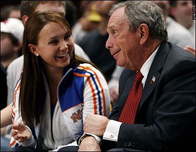 Michael Bloomberg Georgina Bloomberg