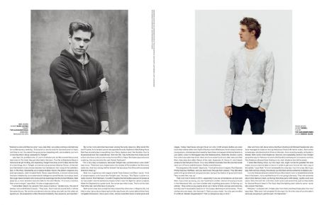Max Irons Jake Abel and Max irons-Glamour magazine