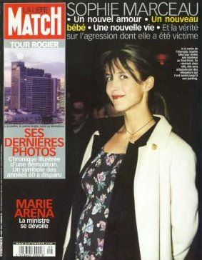 Sophie Marceau - Paris Match Magazine [France] (6 March 2002)
