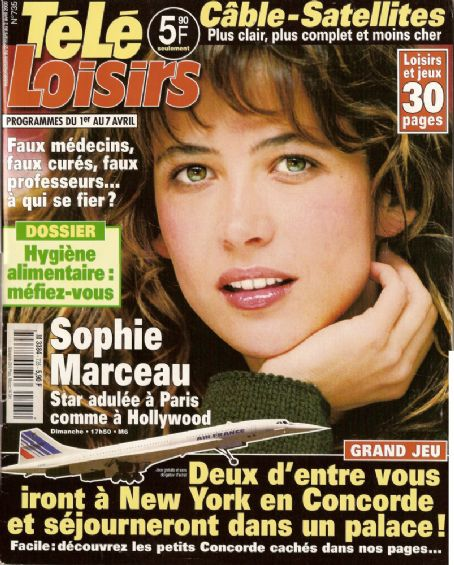 Sophie Marceau - Tele Loisirs Magazine [France] (27 March 2000)