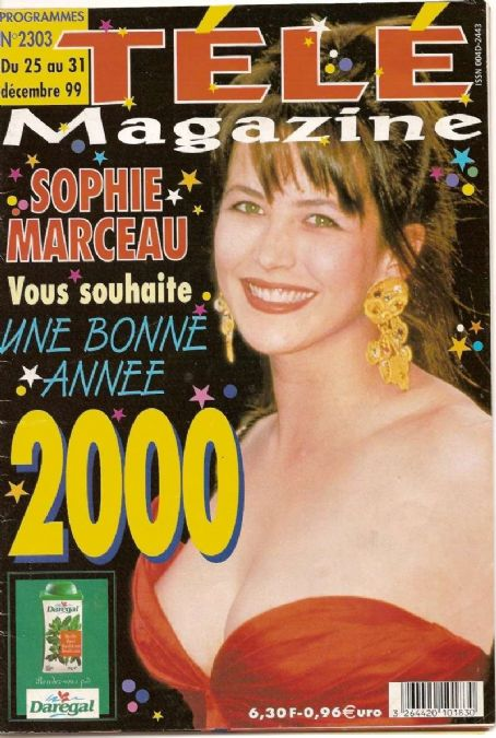 Sophie Marceau - Tele Magazine [France] (December 1999)