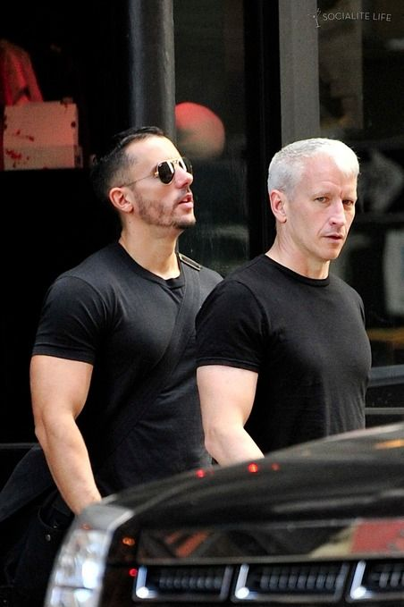 Benjamin Maisani - Anderson Cooper and boyfriend Ben Maisani head out of ...