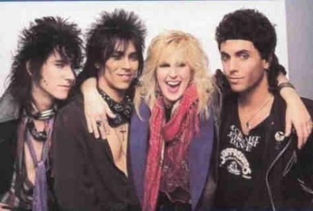 Randy Castillo Lita Ford's touring band