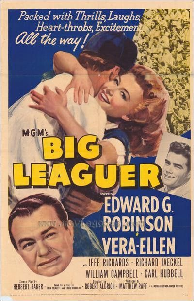Big Leaguer (1953) Poster