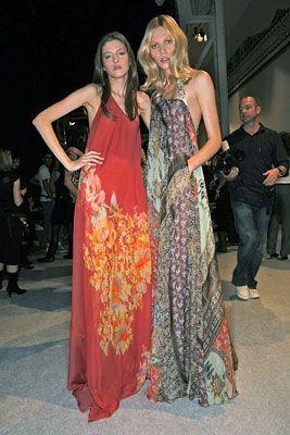 Aline Weber with Yulia Kharlapanova