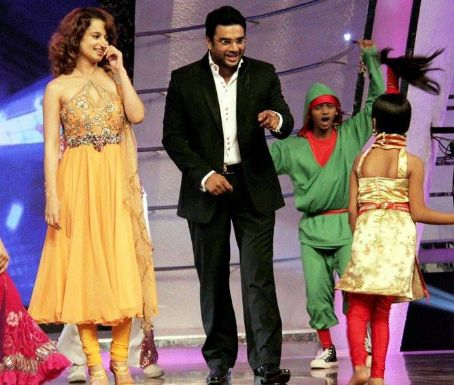 Madhavan Kangana and  on Chak Dhoom Dhoom
